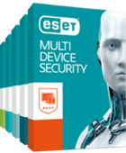 ESET Multi-Device Security: Advanced Antivirus Pack for Windows, Mac, and Android