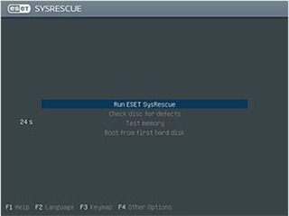 ESET SysRescue Update