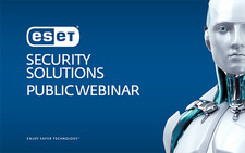 Image from ESET Endpoint security solutions webinar